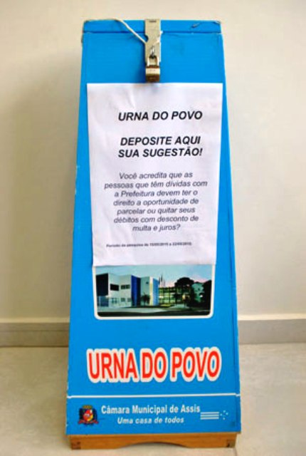 urna do povo