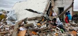 Tornado deixa quatro mortos no Uruguai