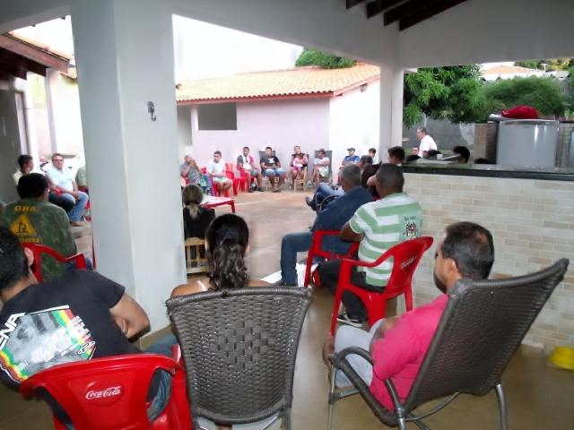 Reunião define Suplente de Deputado Professor Adriano Silva pré-candidato a prefeito 2016 - Foto Celso Antunes