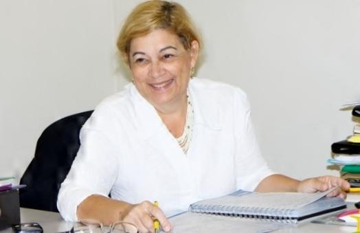 Secretária de Educação do Município de Cáceres, Nelci Eliete - Foto Assessoria