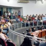 População de CV  lota sessão de votação de projeto para igualar salário de vereador e professor