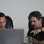 Vereador Cézare Pastorello autor do Projeto de Lei, ao do Vereador Barone.