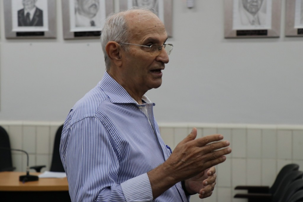 Presidente do SindJor MT, Itamar Perenha - Foto Felipe Deliberaes