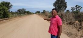 Vereador Elias busca melhorias de estradas rurais