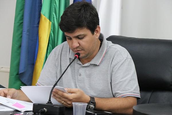 Vereador Secretário, Cláudio Henrique - Foto Felipe Deliberaes