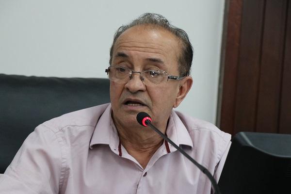Presidente da Câmara dos Vereadores, Rubens Macedo - Foto Felipe Deliberaes