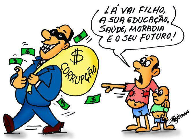 charge corrupção