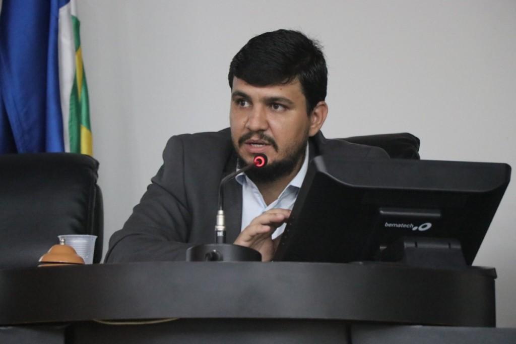 Vereador Cláudio Henrique - arquivo