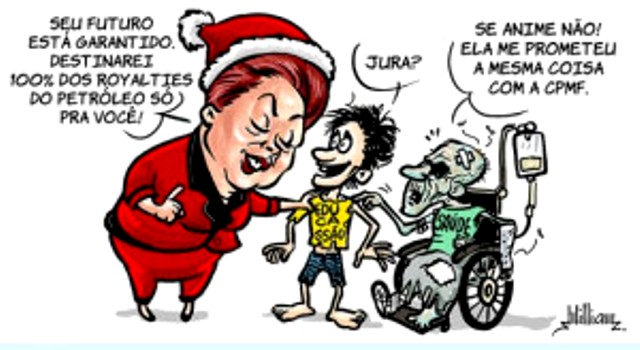 charge DILMA CPMF