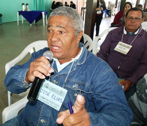 Líder Comunitário, José Elias - Foto Celso Antunes