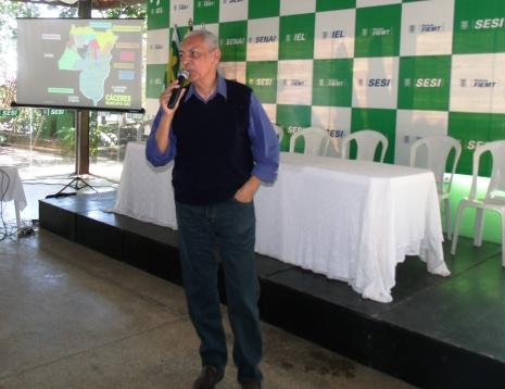 Engenheiro Adilson Reis ministrou Palestra - Foto Celso Antunes