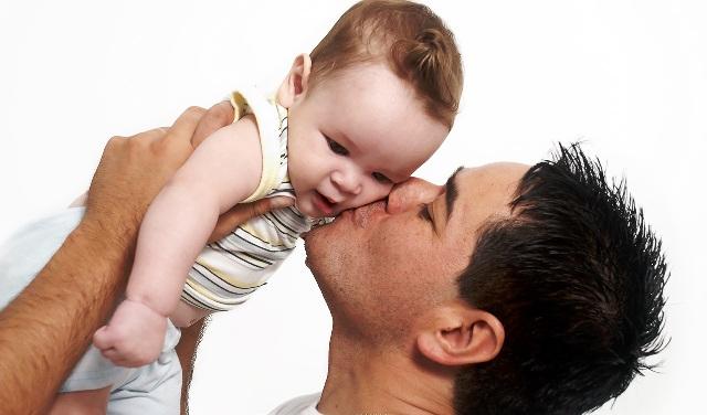 A atenção do pai também é muito importante...
