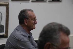 Ex-Prefeito Aloisio Coelho de Barros, prestigia ao Ato. foto Felipe Deliberaes/Assessoria de Imprensa