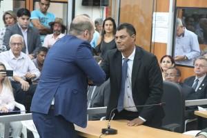 Vereador Elias, pela experiência, é novamente Tesoureiro. foto Felipe Deliberaes/Assessoria de Imprensa