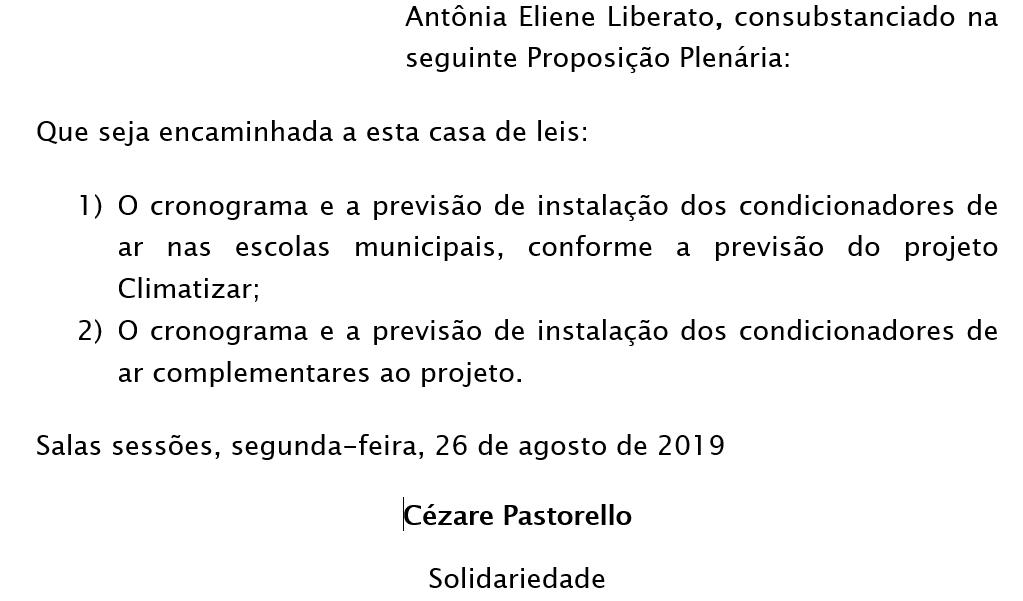 Requerimento Educa+º+úo
